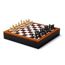 Chess Set in Camel