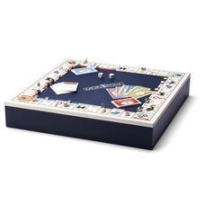 Monopoly Set in Navy & Cream