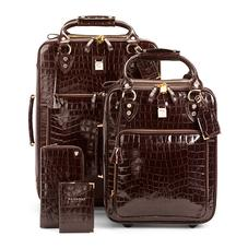 Candy Case Collection in Deep Shine Amazon Brown Croc