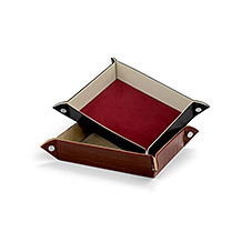 Tidy Trays. Leather Travel Goods from Aspinal of London