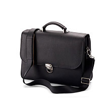 City Laptop Briefcase. Business Cases from Aspinal of London