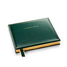 Leather Fishing Books. Albums & Books from Aspinal of London