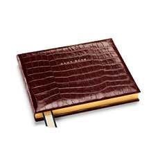 Leather Game Books. Albums & Books from Aspinal of London