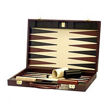 "17"" Backgammon Set. Backgammon Sets from Aspinal of London"