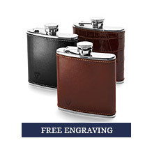Classic 5oz Leather Hip Flasks