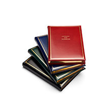 Classic Address Books. Leather Address Books from Aspinal of London