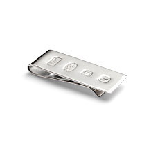 Sterling Silver Money Clips. Silver Gifts from Aspinal of London
