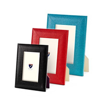 Leather Photo Frames. Wedding Gifts from Aspinal of London