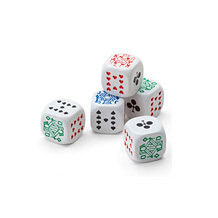 Poker Dice. Luxury Games from Aspinal of London
