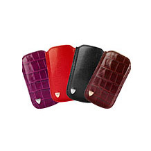 iPhone 5 Leather Case. Travel Accessories from Aspinal of London