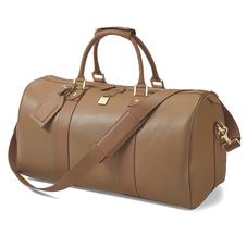 Boston Bag in Camel Saffiano