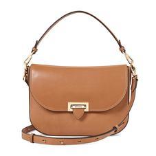 Slouchy Saddle Bag in Smooth Natural Tan