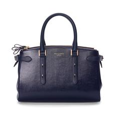 Brook Street Bag in Midnight Blue Lizard