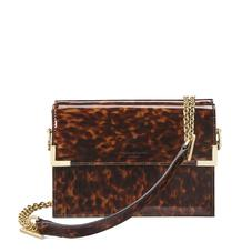 Chelsea Bag in in Deep Shine Tortoiseshell Patent