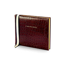 Leather Fishing Books. Sporting Gifts & Books from Aspinal of London
