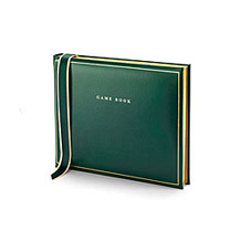 Leather Game Books. Sporting Gifts & Books from Aspinal of London