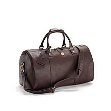 Boston Leather Travel Bag