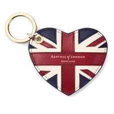 Brit Heart Keyring