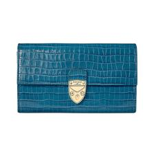 Mayfair Purse in Deep Shine Topaz Small Croc
