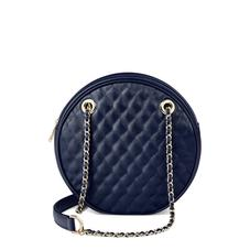 Jackie 'O' Bag in Navy Quilted Kaviar