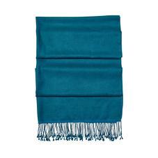 Essential Silk & Cashmere Pashmina in Topaz