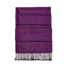 Essential Silk & Cashmere Pashmina in Amethyst