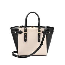 Mini Marylebone Tote in Monochrome Saffiano