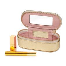 Handbag Tidy All in Pale Gold Pebble
