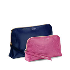Leather Makeup Bags & Cosmetics Cases