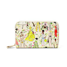 Giles x Aspinal (Midi Continental Purse - Girls Print)