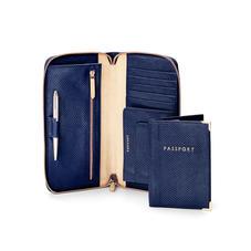 Zipped Travel Wallet & Passport Cover