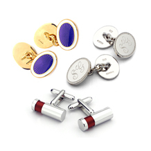 Grooms Cufflinks. Wedding Gifts from Aspinal of London