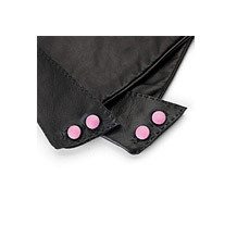Ladies Long Leather Glove Buttons. Product Accessories from Aspinal of London
