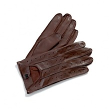 Men's Leather Driving Gloves in Brown. Mens Leather Driving Gloves from Aspinal of London