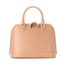 Hepburn Bag in Deer Saffiano. Handbags & Clutches from Aspinal of London