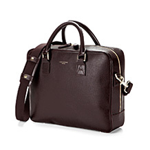 Large Mount Street Laptop Bag. Business Cases from Aspinal of London
