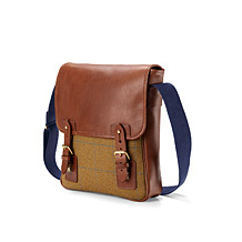 The England Small Messenger Bag. Business Cases from Aspinal of London