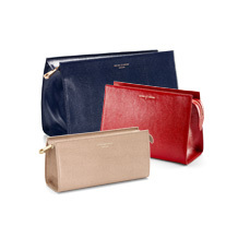 Cosmetic Cases. Leather Travel Goods from Aspinal of London