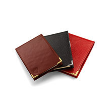 Pocket Memo Pads & Jotters. Leather Travel Goods from Aspinal of London