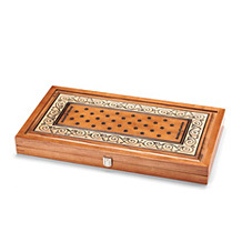 "22"" Wooden Backgammon Set"