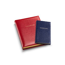 Travel Address Books. Travel Accessories from Aspinal of London