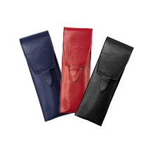 Leather Pen Cases. Travel Accessories from Aspinal of London