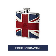 Brit 5oz Leather Hip Flask