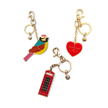 Key Rings & Charms. Travel Accessories from Aspinal of London