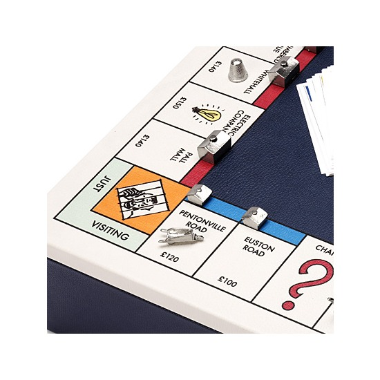 Monopoly Set in Navy & Cream from Aspinal of London