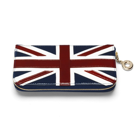 Brit Clutch Zip Wallet from Aspinal of London