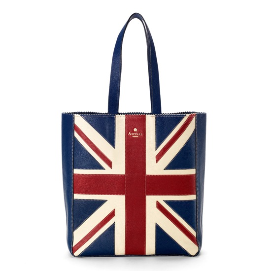 Brit Essential Tote from Aspinal of London