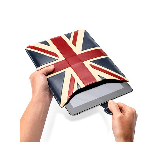Brit iPad Sleeve from Aspinal of London