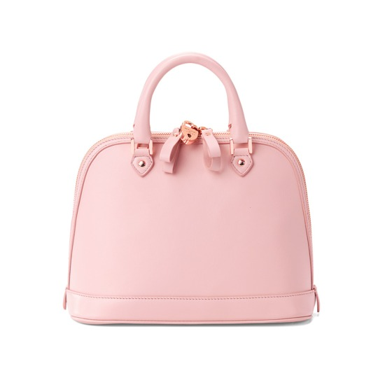 Mini Hepburn in Smooth Blush Pink from Aspinal of London