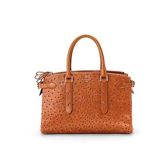 ASPINAL OF LONDON Ostrich Handbag Free Shipping Footaction QqNBw5PYdu